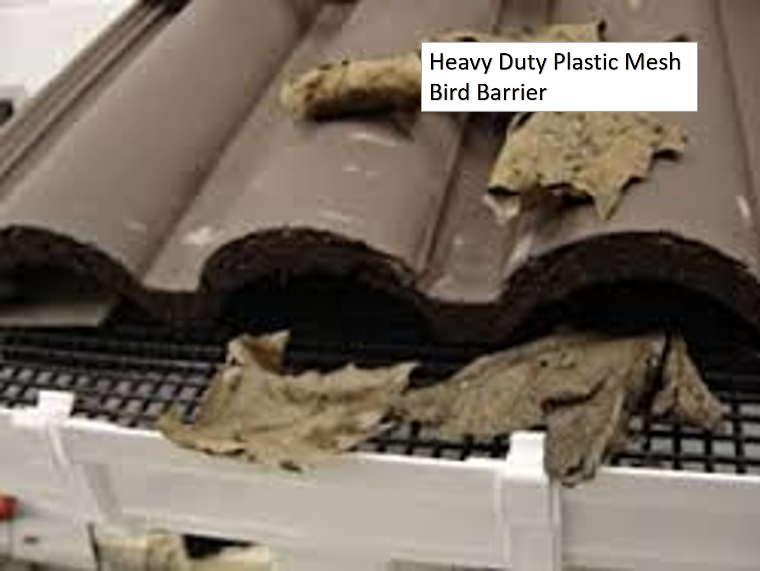 Heavy Duty Plastic Mesh Bird Barrier