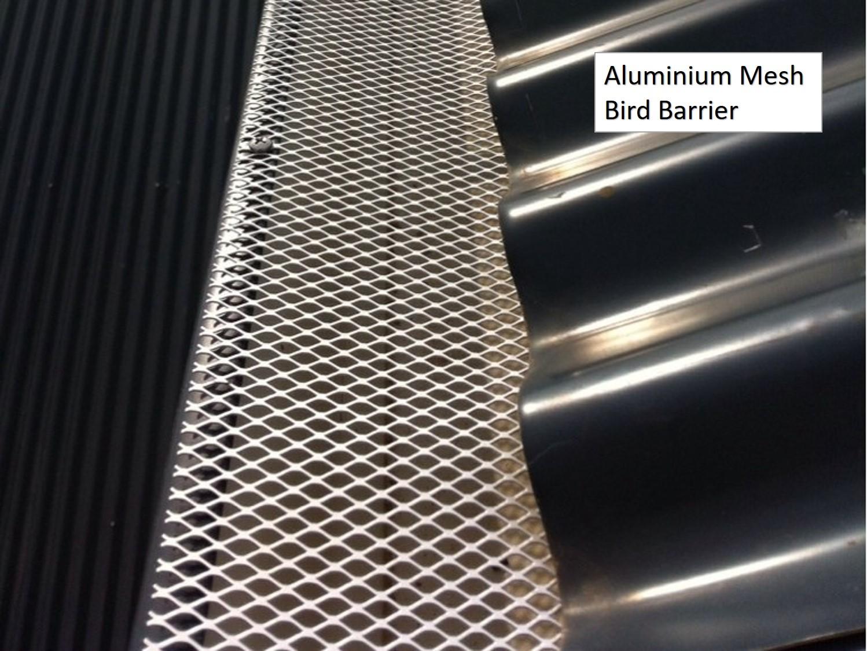 Aluminium Mesh Bird Barrier