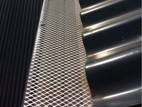 Aluminium Mesh Bird Barrier