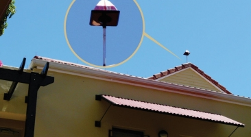 Eagle Eye Optical Bird Deterrent